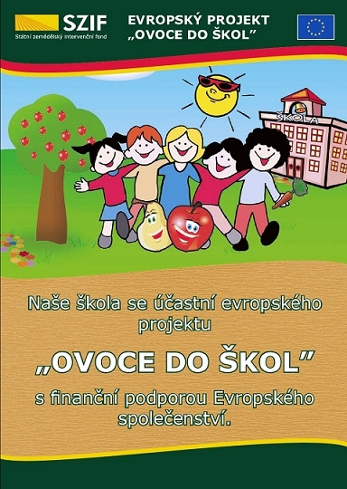 plakat ovoce do skol